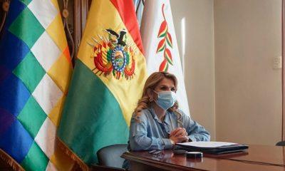 Jeanine Áñez coronavirus