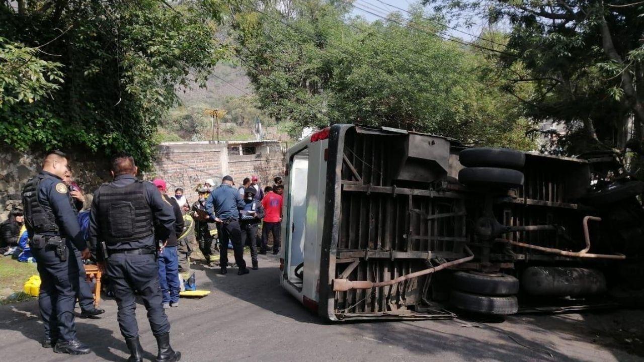 accidente Xochimilco