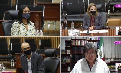 consejeros INE protesta
