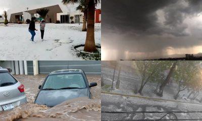 granizo lluvias estados