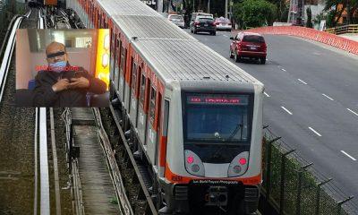 hombre armado metro linea 2