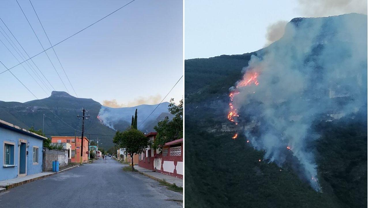 incendio Sierra Gomas