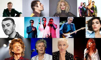 músicos británicos festivales