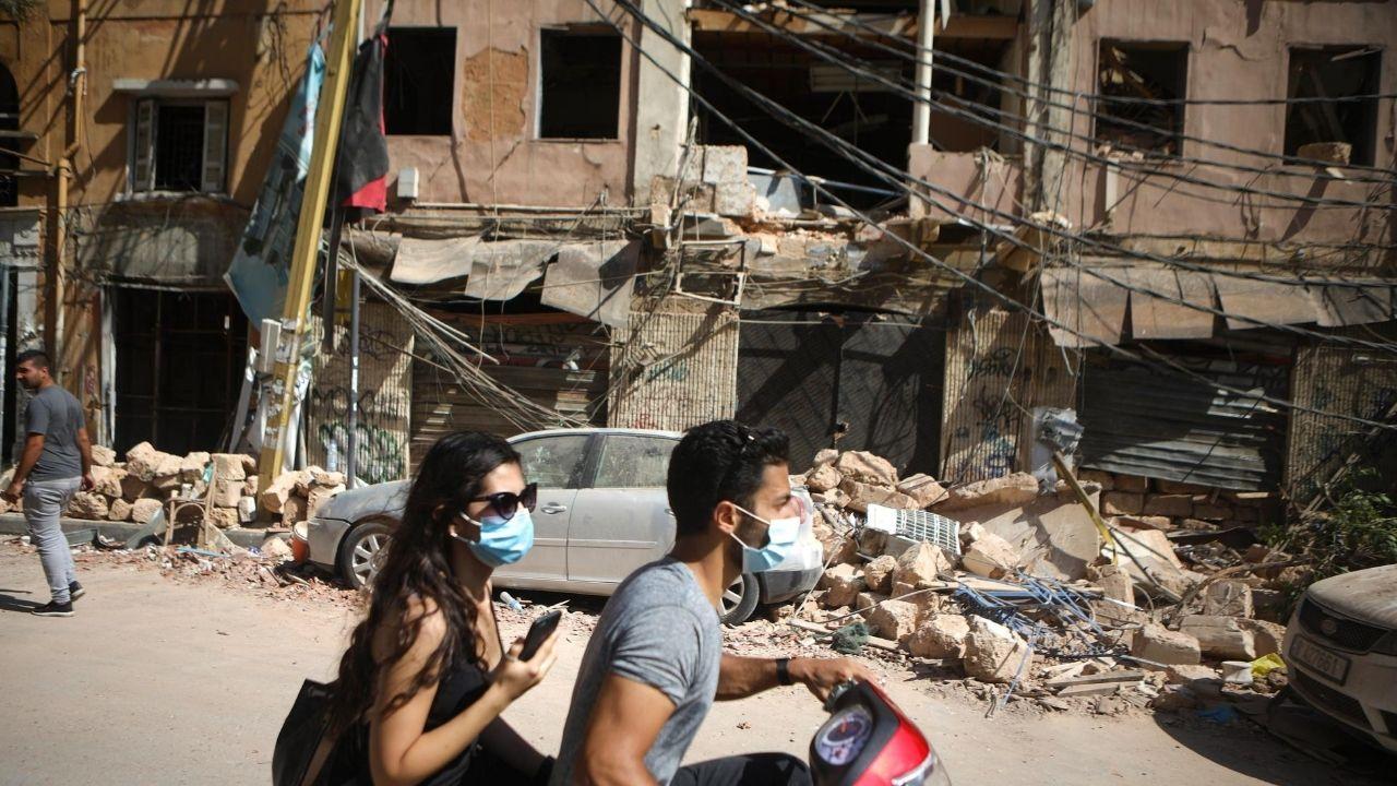 Beirut Explosión