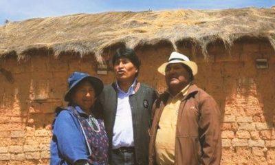 hermana Evo Morales