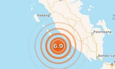 sismos Indonesia