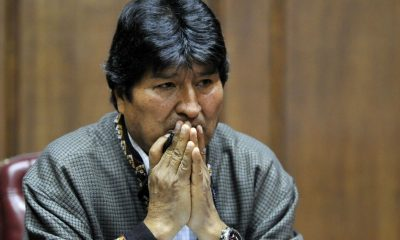 Evo Morales Senado