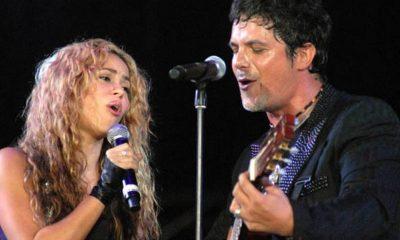 Shakira y Alejandro Sanz