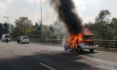 incendio vehículo Periférico