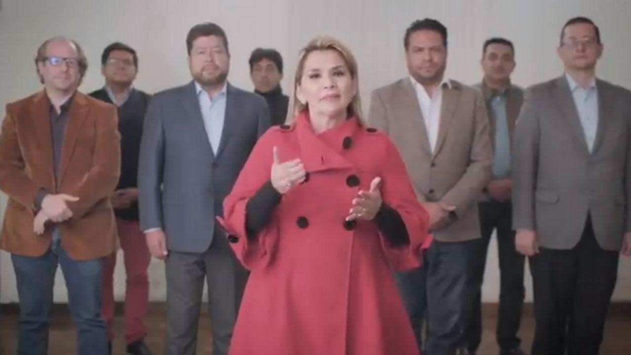 presidenta de bolivia candidatura