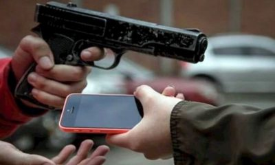 robo celulares Estado México